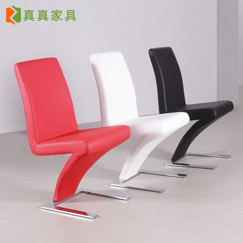 真真 皮革成人簡約現代 美尊至品餐椅