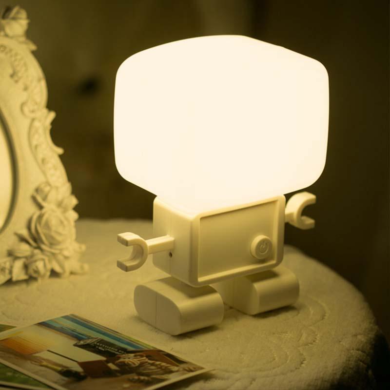 蔚然黄光白光台灯