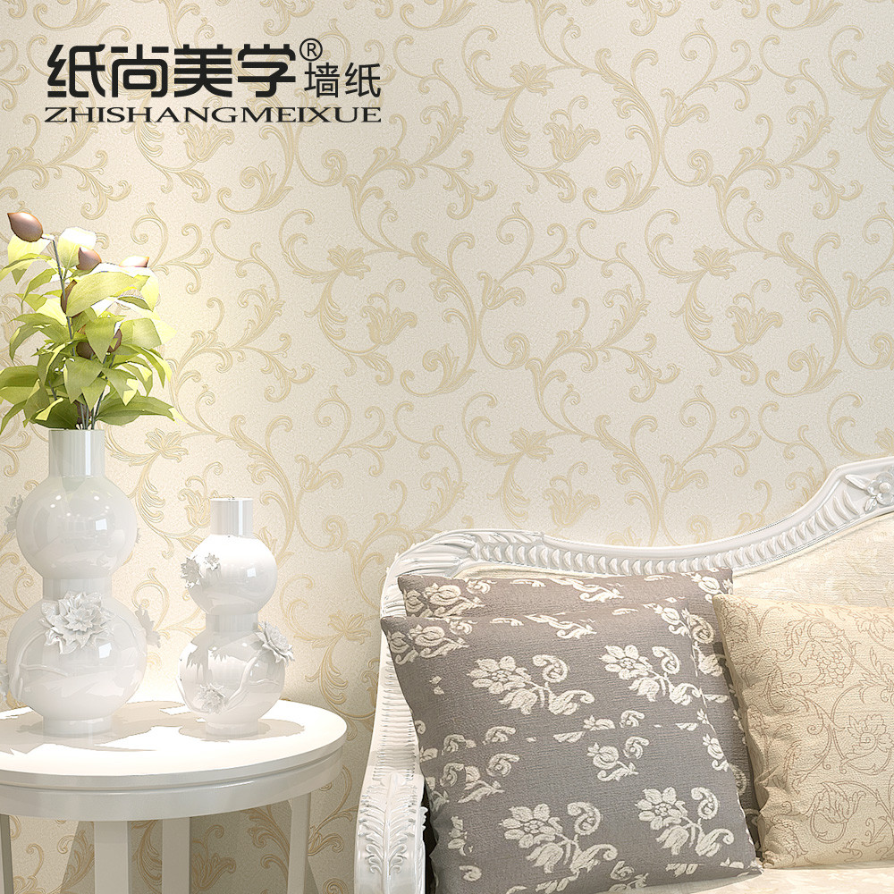 纸尚美学 压花有图案客厅欧式 GS50505墙纸