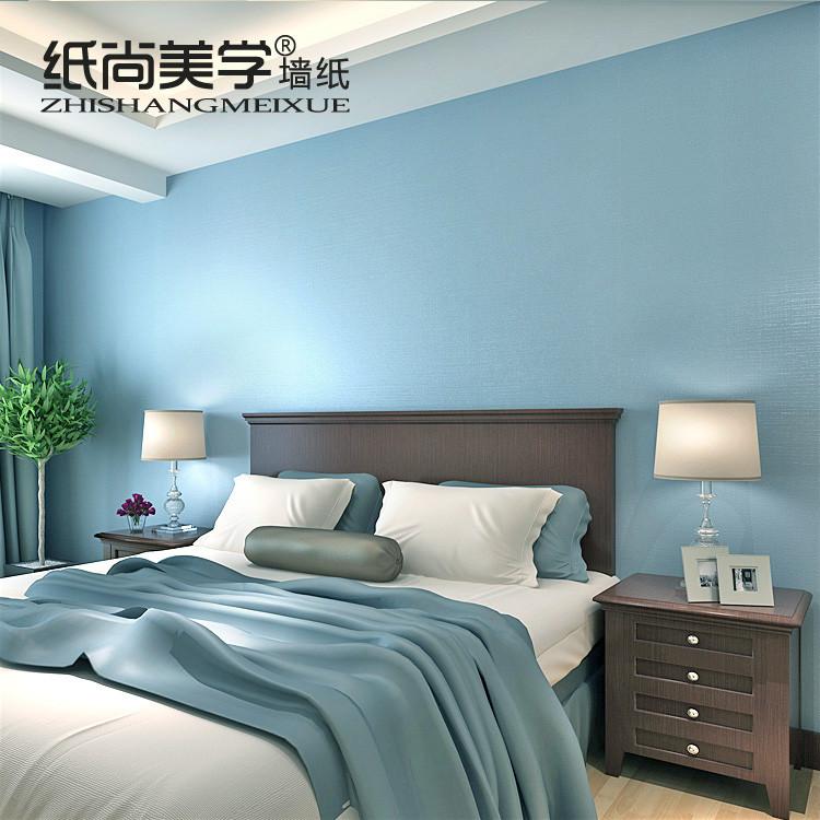 纸尚美学 压花有图案纯色客厅地中海 P18102墙纸