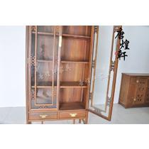 单个鸡翅木储藏抽象图案成人明清古典 书柜