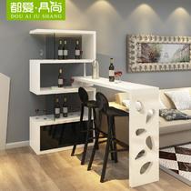 单个吧台密度板/纤维板油漆工艺人造板工艺烤漆支架结构多功能简约现代 吧台