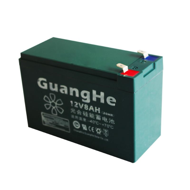 光合 照明用 0826w-12v8ah蓄电池
