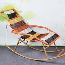 编织/缠绕/捆扎结构多功能艺术成人田园 摇椅