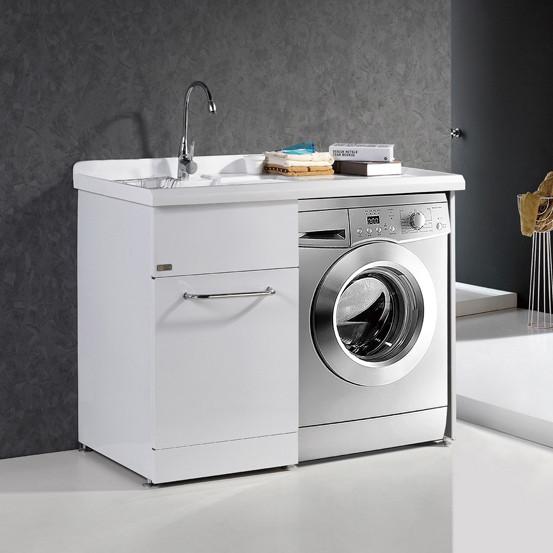 賓爵衛浴 不銹鋼人造石臺面E0級簡約現代 HT1001浴室柜