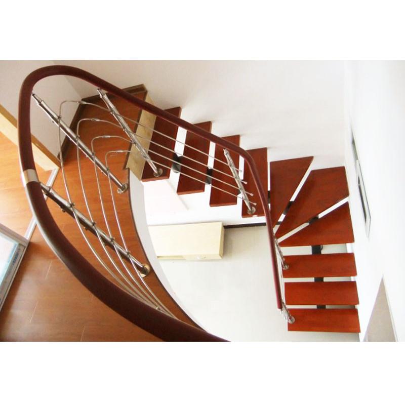 康辉 钢旋梯 旋转钢木楼梯楼梯