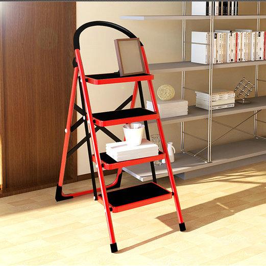 尚熙 黃色紅色鋼折疊梯 22117樓梯