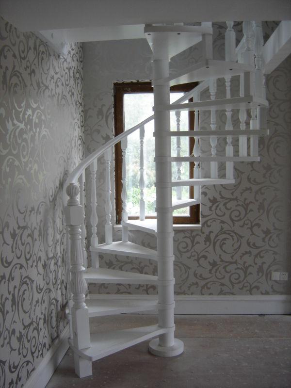 康辉 美国红橡榉木橡胶木旋梯 楼梯