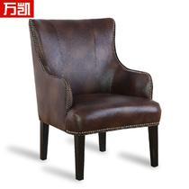 实木高弹泡沫海绵成人欧式 6062A沙发椅