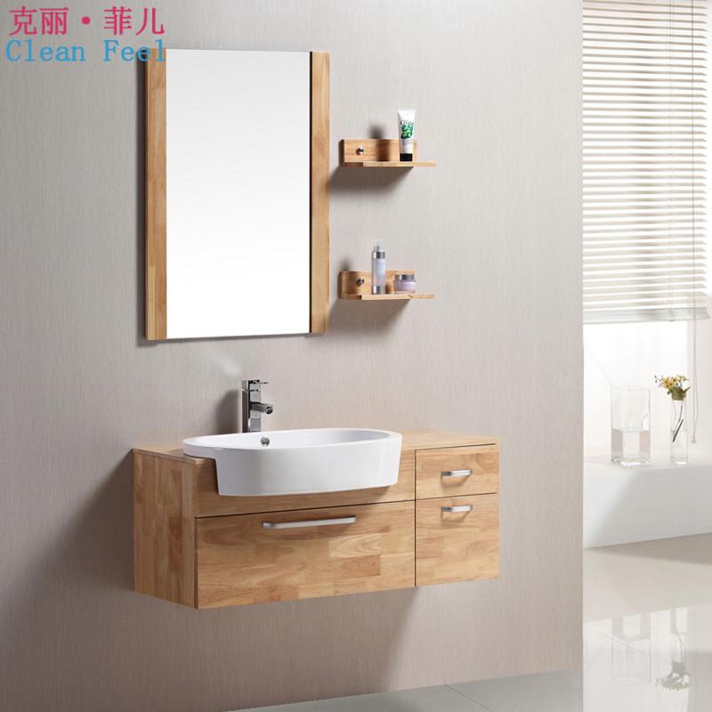 克丽菲儿橡木木质台面-浴室柜