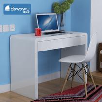 白1.2,网点自提。人造板密度板/纤维板笔记本电脑桌简约现代 电脑桌