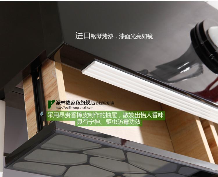 派林隆家私人造板密度板纤维板翻开门对开门单开门简约现代鞋柜