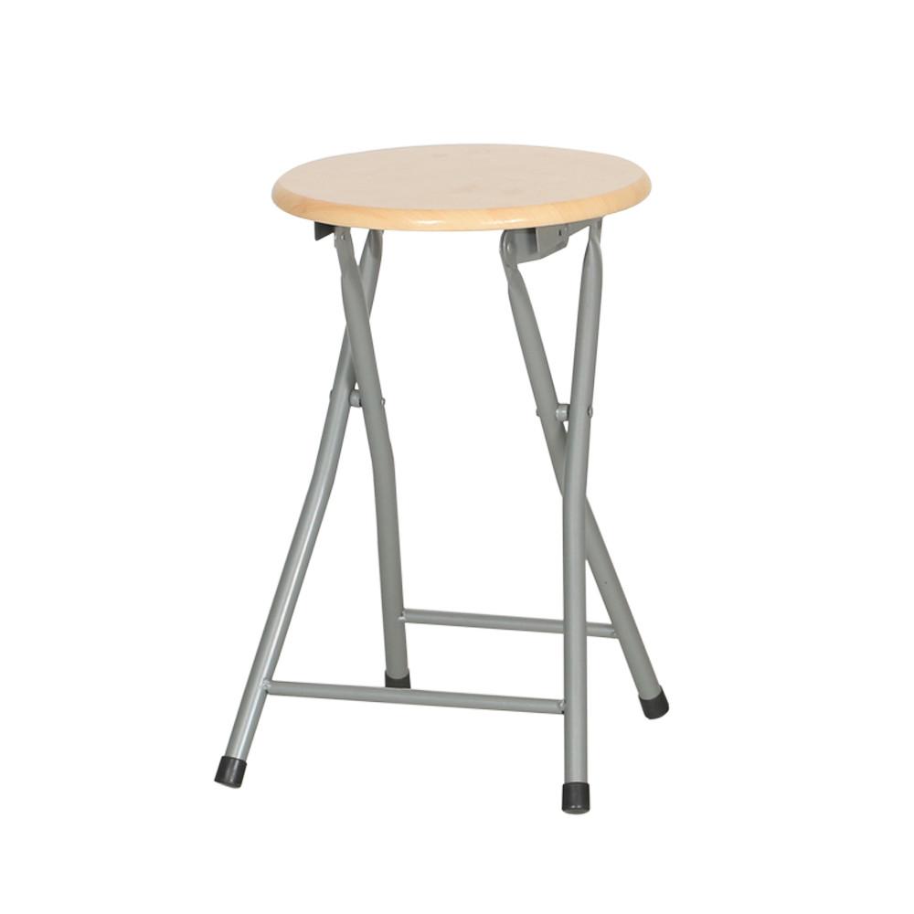 乾日生 无靠背靠背型人造板密度板/纤维板儿童简约现代 折叠椅