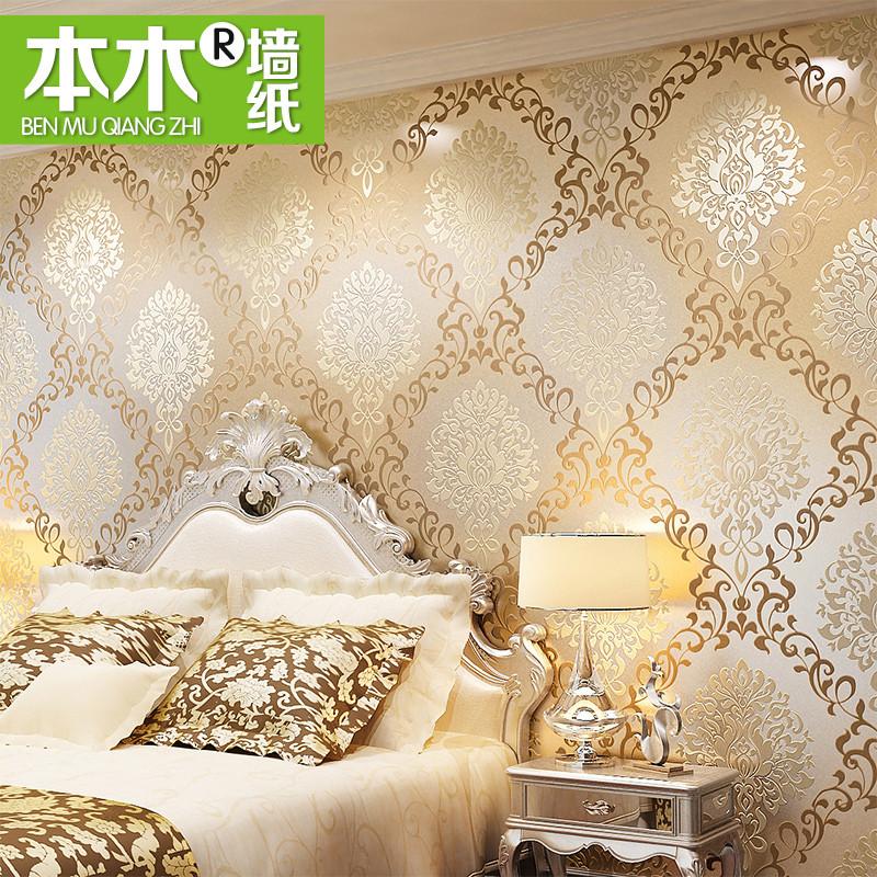 本木 印花有图案欧式 MGE 3600墙纸