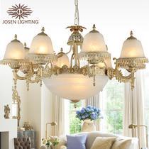 玻璃合金欧式节能灯 吊灯