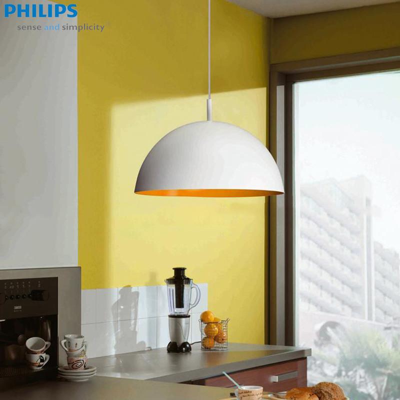 飛利浦 簡約現代噴漆磨砂節能燈LED 吊燈