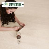 高密度纤维板R型槽 红木馆专供地板