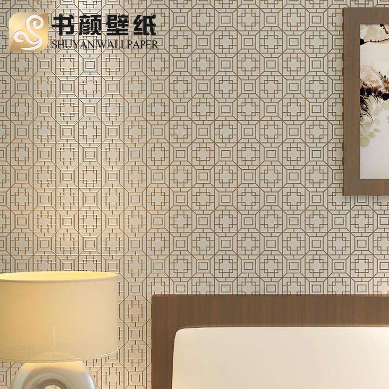 书颜壁紙毛面有图案明清古典墙纸