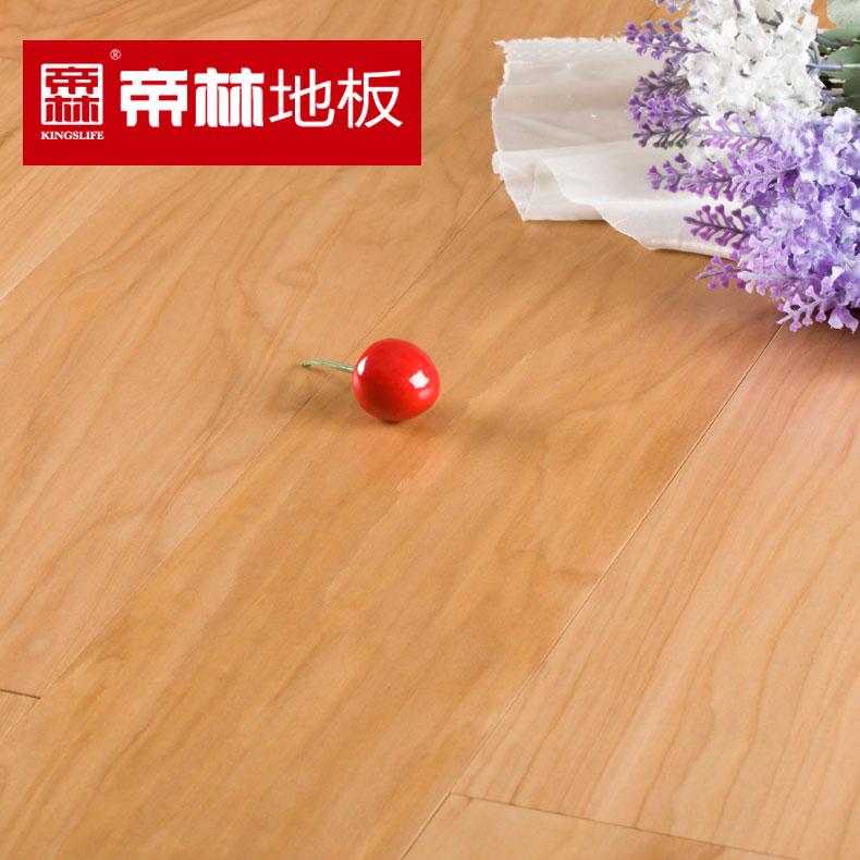 帝林枫木多层实木地板平口类实木复合地板地板