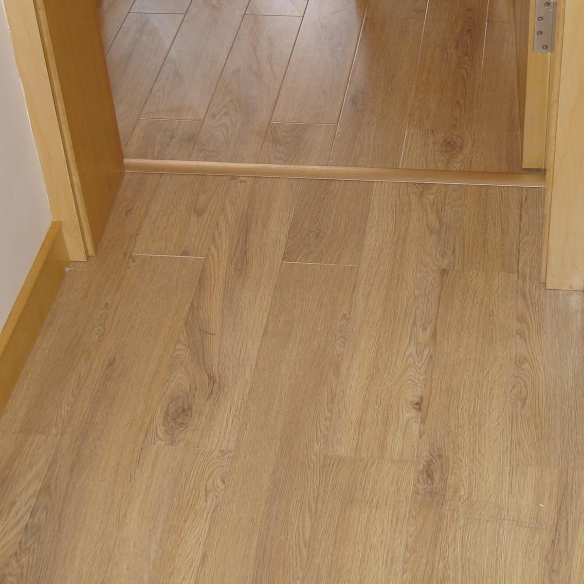 得福裸板价高密度纤维板#栗色珍珠地板