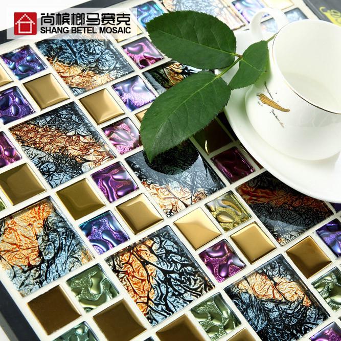 尚槟榔 花色玻璃内墙欧式 瓷砖