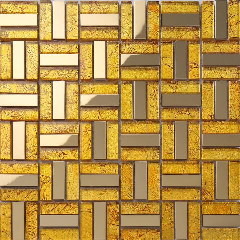 孔雀鱼马赛克玻璃内墙欧式瓷砖