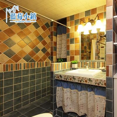 蓝莓小镇纯色室内地砖田园瓷砖