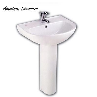 美標 4寸孔單孔陶瓷 CP-0540洗手盆