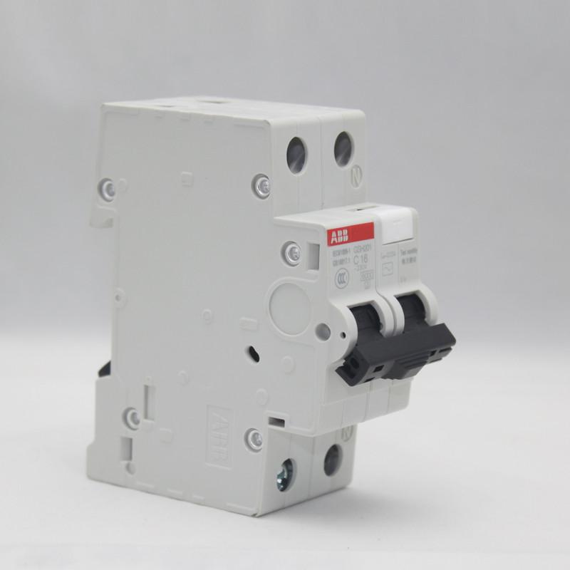 ABB 1P16A真空斷路器 GSH201-C16斷路器空氣開關