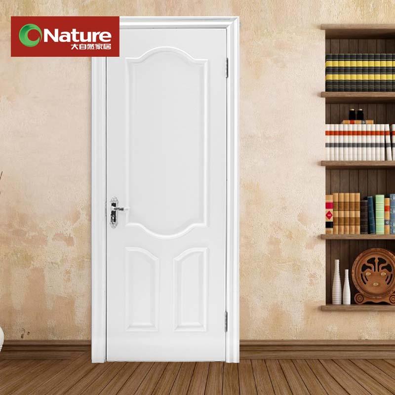 大自然 單套門木烤漆平開門式 門