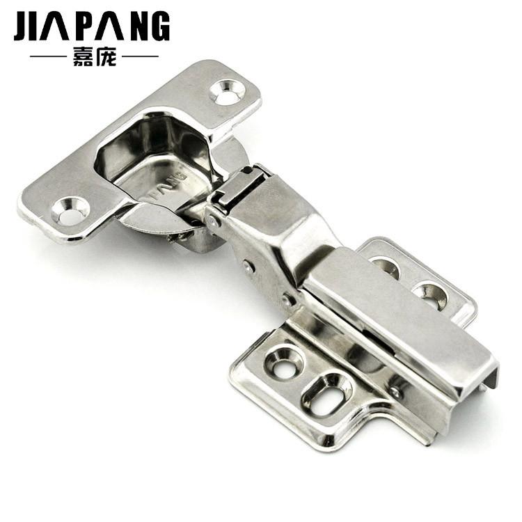 嘉庞 不锈钢固定式液压缓冲铰链卡式 305_门窗配件铰链