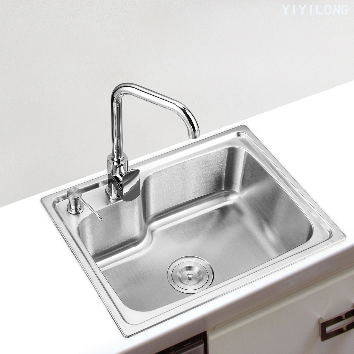 溢溢隆 不銹鋼 YIYI-6543水槽