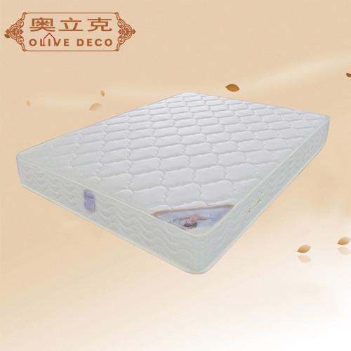 奥立克 白色整网弹簧成人 床垫