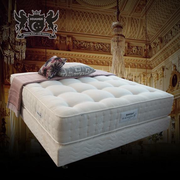 SOMNUS 贝卡特顶级床垫面料独立袋装弹簧成人 床垫