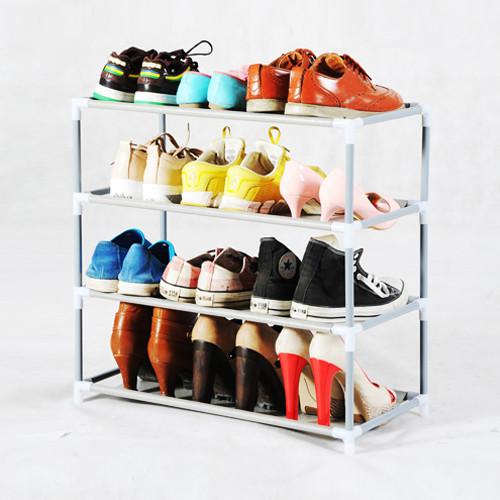 惠惠四层带扶手支架结构多功能艺术简约现代鞋架