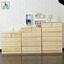 木箱框结构储藏成人田园 斗柜