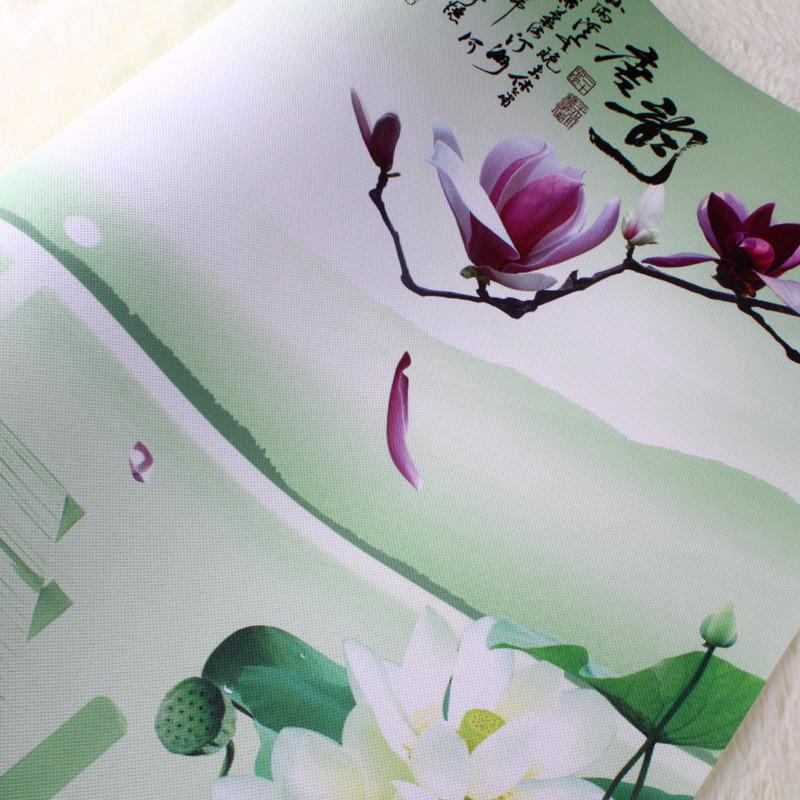 纸面有图案客厅明清古典忆江南墙纸
