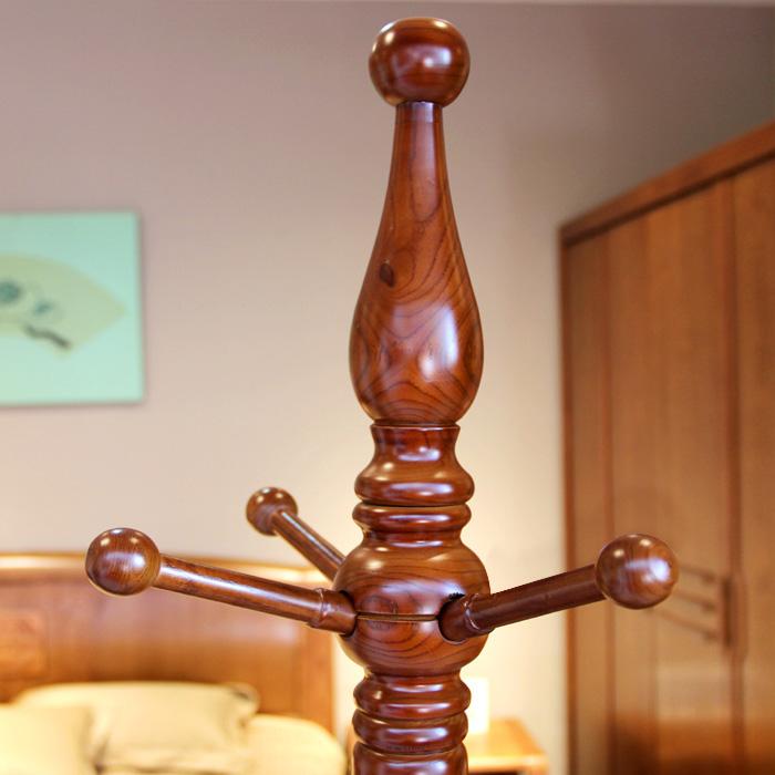丰采家居木质工艺支架结构移动艺术成人欧式衣帽架