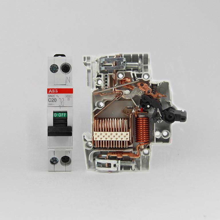 ABB 1P16A真空斷路器 SN201L-C16斷路器空氣開關