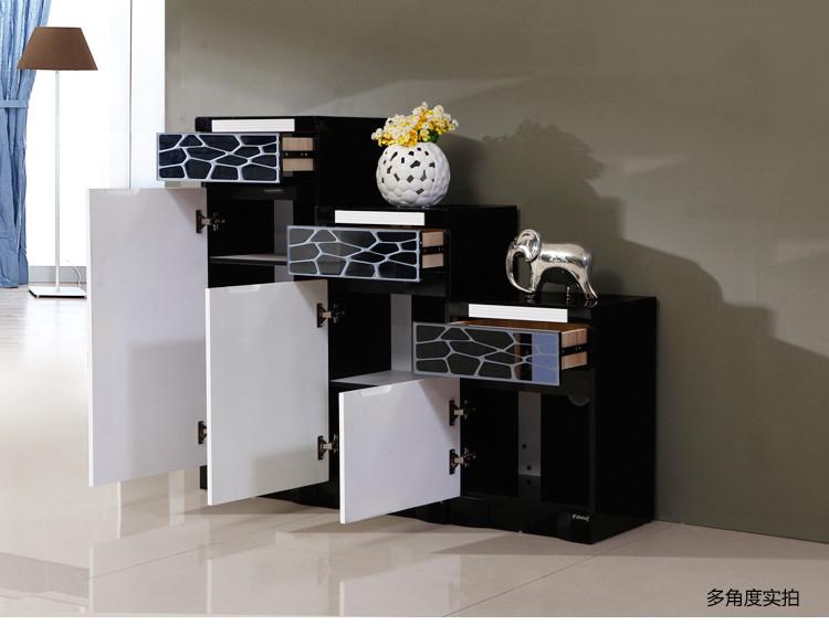 派林隆家私 密度板/纖維板儲藏單開門藝術簡約現代 鞋柜