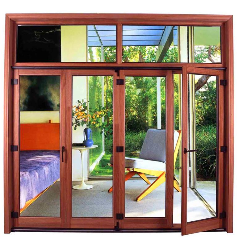 中鴻森特 鋼化玻璃 純實木68系列-2窗