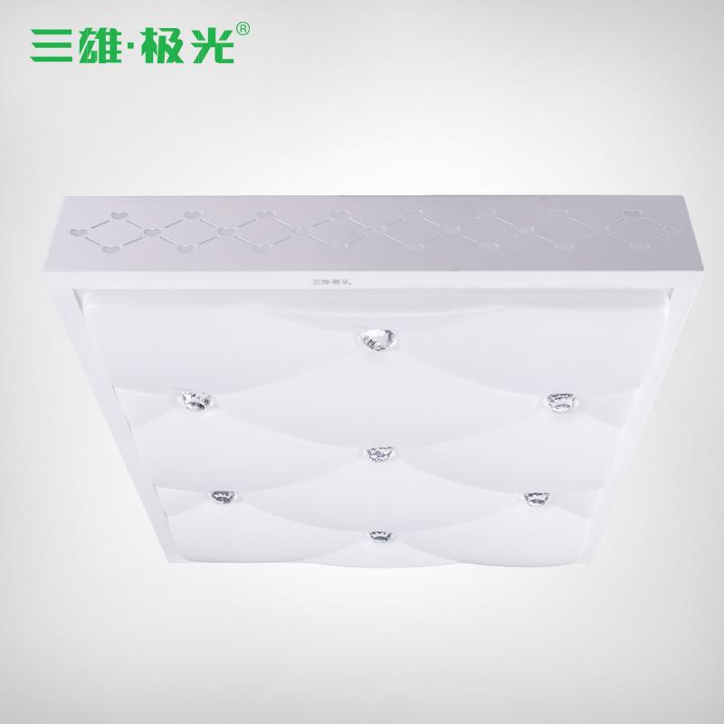 三雄·极光 PMMA高透光率灯罩铁简约现代正方形LED 吸顶灯