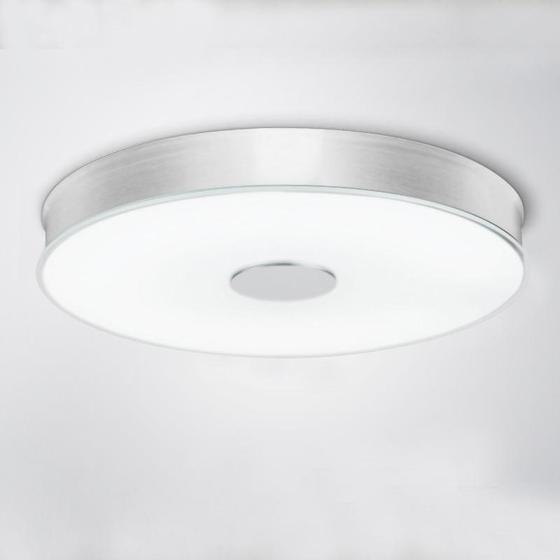 维玛 磨砂玻璃铝简约现代喷漆磨砂圆形节能灯led 吸顶