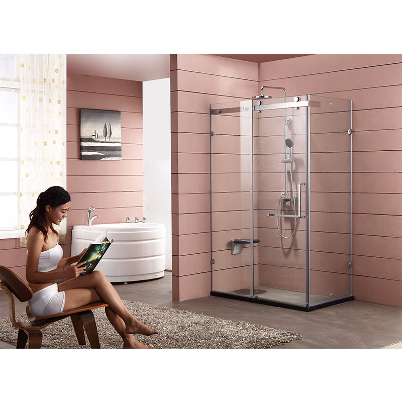 Bojoy 移門式L型 伯爵1107淋浴房