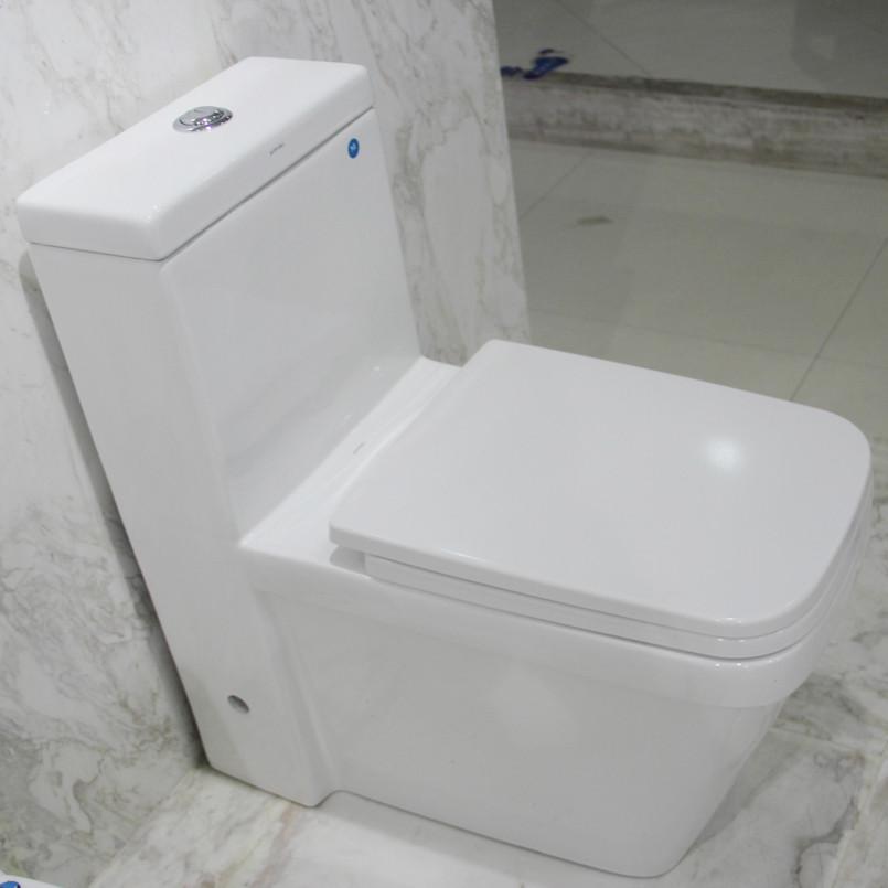 中宇衛浴 白色虹吸式地排水連體式 JY60040馬桶