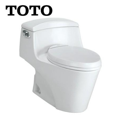 TOTO 白色PP材料虹吸式地排水连体式 CW923BT马桶