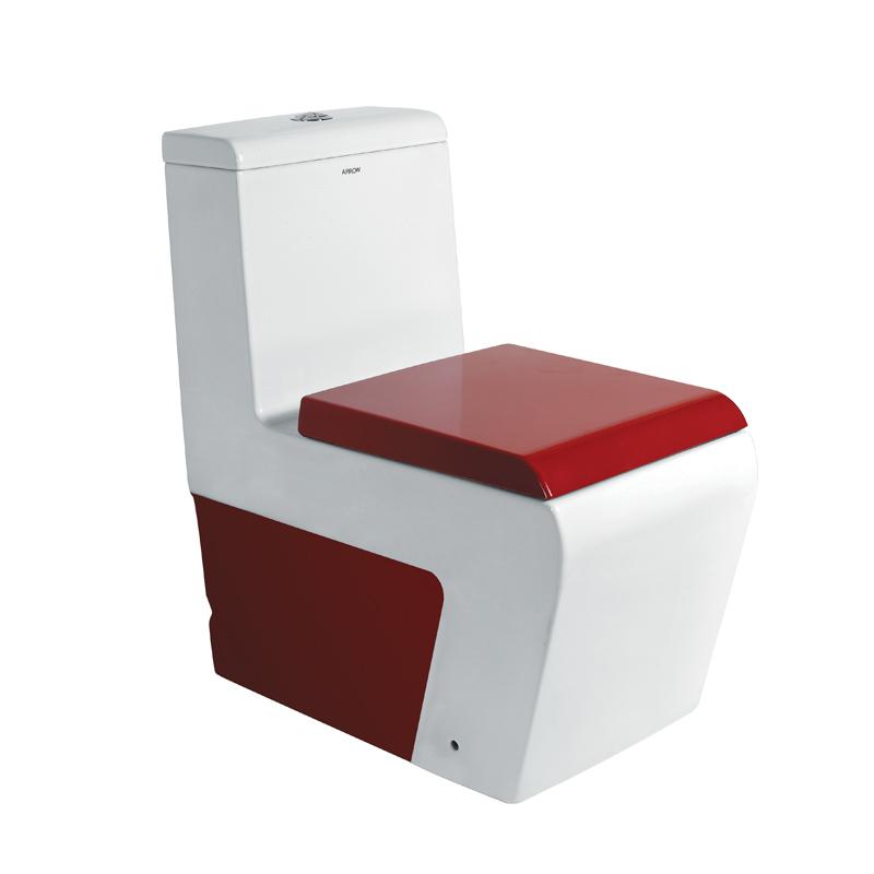 箭牌 白色ABS工程塑料噴射虹吸式地排水連體式 AB1121D馬桶