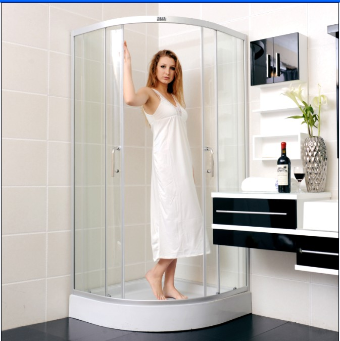 法莎麗 移門式弧扇型 FSL-7001淋浴房