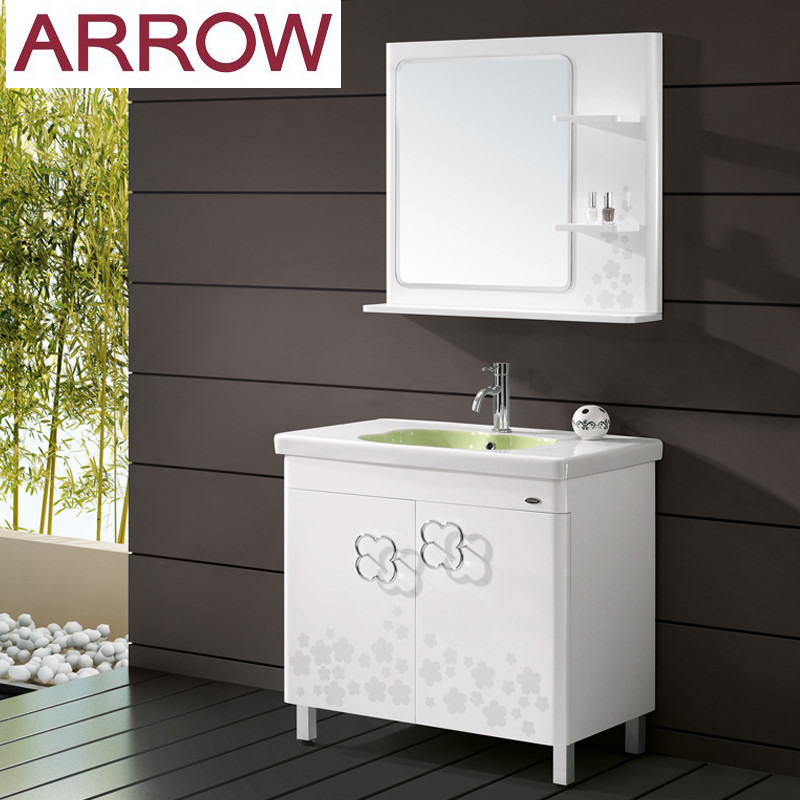 箭牌 橡木一體陶瓷盆 浴室柜