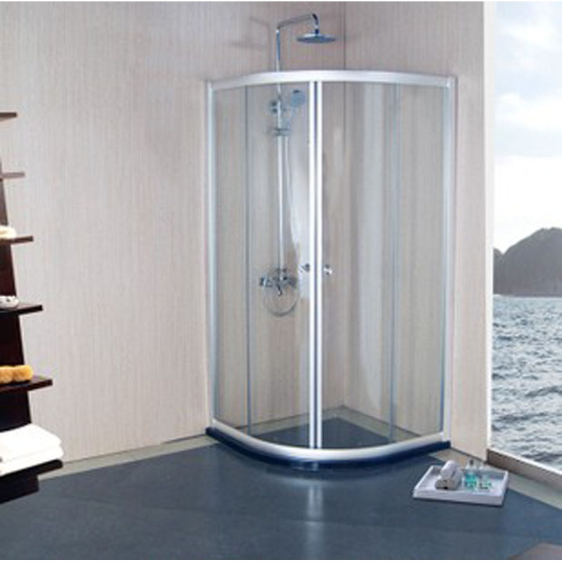 帝宏 移门式弧扇型 淋浴房淋浴房
